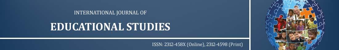 International Journal of Educational Studies