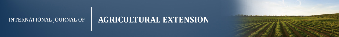 International Journal of Agricultural Extension