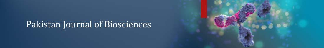Pakistan Journal of Biosciences